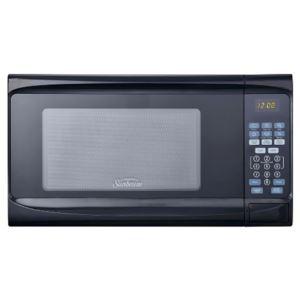 0.7 Cubic Feet - Digital Microwave Oven - (Black)