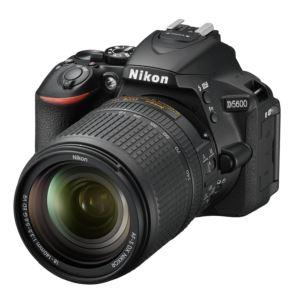 D5600 DSLR w/ 18-140mm Lens