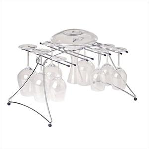 Large Folding Decanter and Wine Glass Dryer