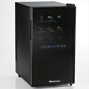 Silent 18 Bottle Dual Zone Touchscreen Wine Cooler