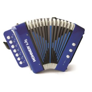 Toy Accordion Blue - Ages 4+ Years