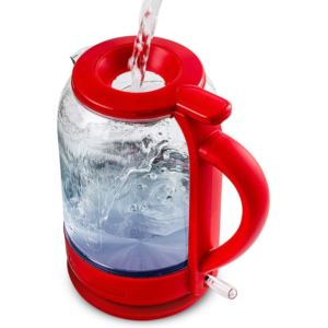 1.5 LT ProntoFil Electric Glass Kettle - Red