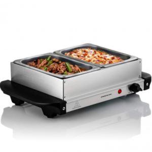 150W Electric 2 Pan Buffet and Warmer