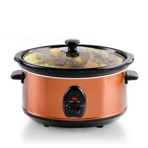 3.5 LT Ceramic Slowcooker - Copper