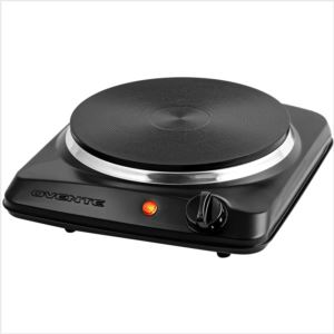 7'' Single Electric Hot Plate - Black