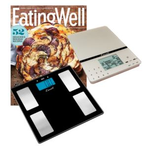 Health Monitor Scale, Cesto Scale & Eating Well Subscription