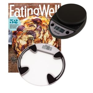 Glass Bath Scale, Primo Scale & Eating Well Subscription