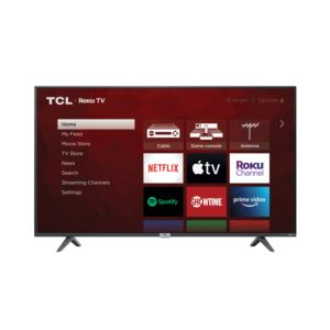 "55"" Class 4-Series 4K UHD HDR Smart Roku TV"