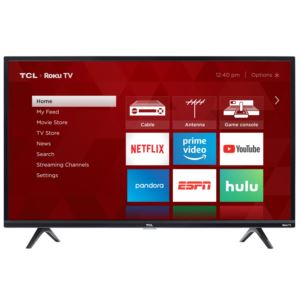 "32"" 3-Series HD LED Roku Smart Full TV"