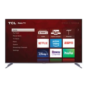 """55"""" Class 5-Series 4K QLED Dolby Vision HDR Smart Roku TV"""