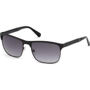 Men's Sunglasses - Black/Smoke Gradient Lens