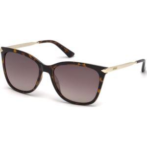 Women's Sunglasses - Shiny Havana/Brown Gradient Lenses