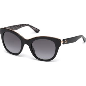 Women's Sunglasses - Black/Gradient Smoke Lenses