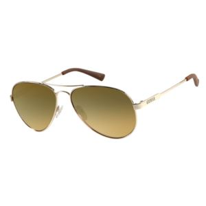 Sunglasses - Gold/Gold Flash Lens