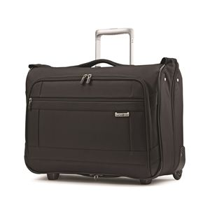 Solyte Carry-On Wheeled Garment Bag In Black