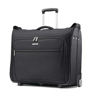 Ascella Wheeled Ultravalet Garment Bag - Black