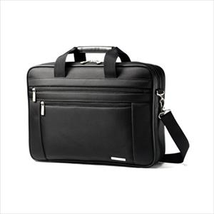 Classic Business 2 Gusset Briefcase W/Pft