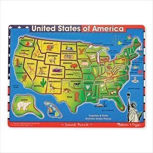 U.S.A Map Sound Puzzle