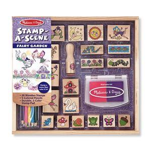 Stamp a Scene Fairy Garden Set