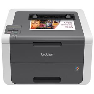 Digital Color Printer with Wireless Networking