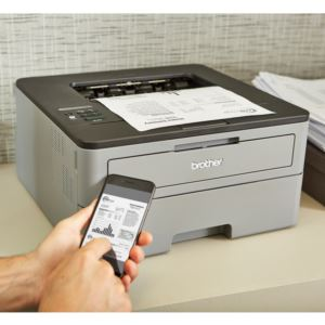 Monochrome Compact Laser Printer with Wireless and Duplex Printing