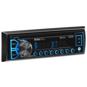 Single Din MP3/AM/FM Receiver w/ Bluetooth & Remote Control