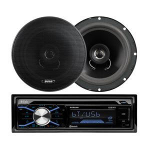 200 Watt Car CD Receiver w/ Pair of Speakers