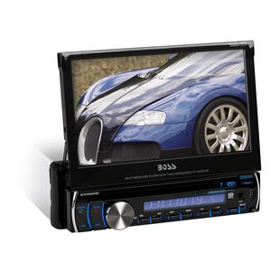 "7"" In-Dash DVD/MP3/CD AM/FM Receiver w/Bluetooth"