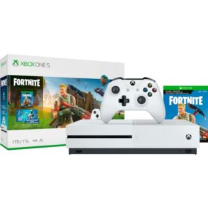 Xbox One S Fortnite Bundle.