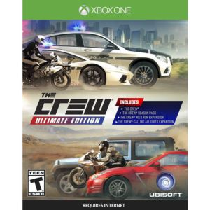 The Crew Ultimate Edition game for Xbox One S and X consoles