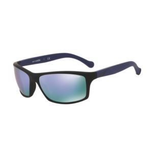 Boiler Sunglasses - Fuzzy Black/Mirror Violet
