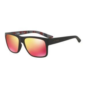 Reserve Sunglasses - Matte Black/Red Multilayer