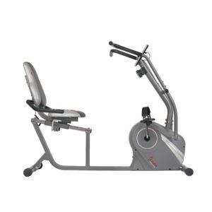 Cross Trainer Magnetic Recumbent Bike w/ Arm Exercisers