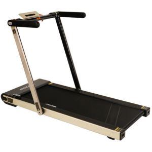Asuna Space Saving Motorized Treadmill w/ Speakers Light Gold