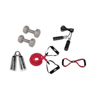 Strength and Stretching Fitness Kit - (7 Piece)