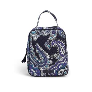 Iconic Lunch Brunch Bag - (Deep Night Paisley)