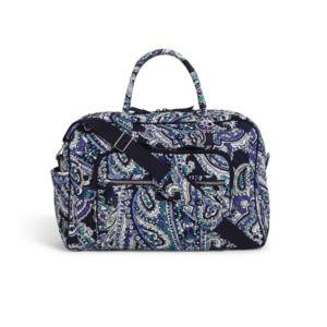 Iconic Weekender Travel Bag - (Deep Night Paisley)