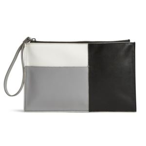 Composition Wristlet - Northbrook - (Colorblock Black)