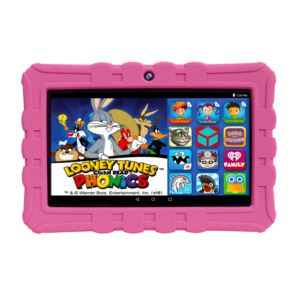 "HighQ Learning Tab, 7-inch Kids Tablet, 16GB,"" with Quad Core Intel Atom x3-C3200RK processor Pink"