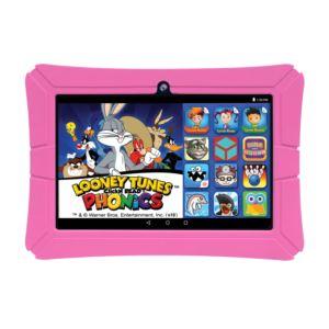 HighQ Learning Tab, 8-inch Kids Tablet, 16GB, with Quad Core Intel Atom x3-C3230RK processor -Pink