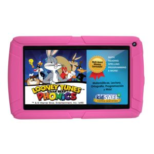 HighQ Learning Tab Jr., 7-inch Kids Tablet, 8GB, Quad Core - Pink