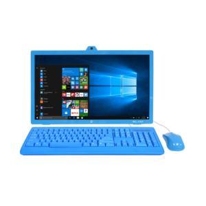 "ELAIO All In One,"" 18.5"""", 32GB / 2GB memory, Intel Atom Quad Core Processor with Windows 10 Blue"