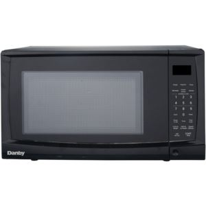 0.7 Cu. Ft. 700W Countertop Microwave Oven in Black