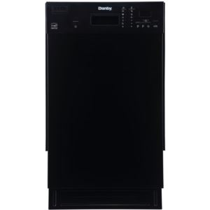 Energy Star 18-In. Built-In Dishwasher in Black