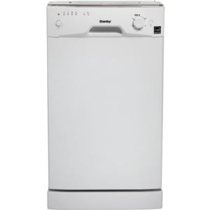 "Energy Star 18"" Built-in Dishwasher in White"