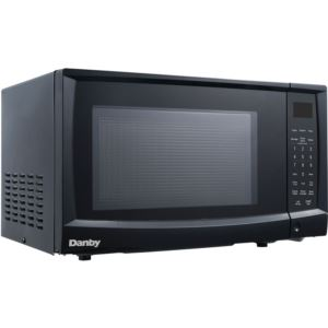 0.9-Cu. Ft. 900W Countertop Microwave Oven in Black