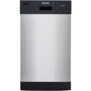 Energy Star 18-In. Built-In Dishwasher in Stainless Steel
