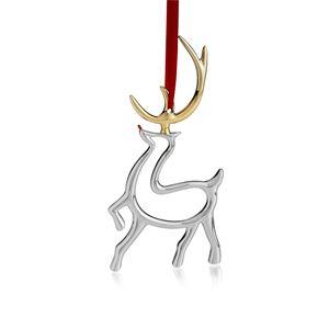 "Reindeer Ornament - 3"" W. X 4.5"" H."