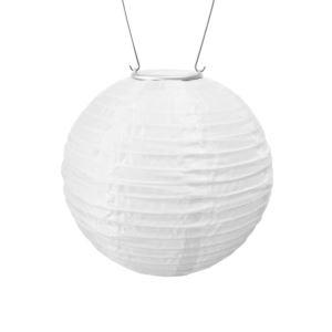 Soji Original Solar Lantern - White W/ Amber-