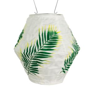 Soji Canvas Green Palm-